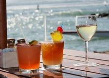plażowi napoje Zdjęcie Stock