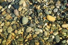 plażowi otoczaki Fotografia Royalty Free