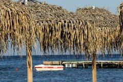 plażowi parasols Fotografia Royalty Free