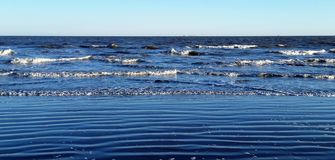 Plażowi piaski Obrazy Royalty Free