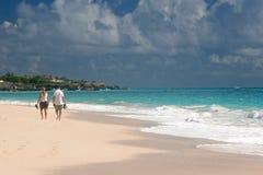 plażowi piechurzy Fotografia Stock