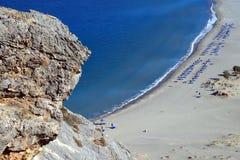 plażowi plakias Fotografia Royalty Free