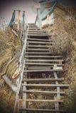 plażowi schody Fotografia Royalty Free