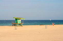 plażowi south Miami. Obrazy Stock
