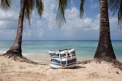 plażowi toreb drzewka palmowe Obraz Stock