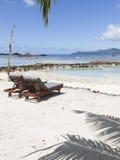 Plażowi turystyka wakacje w Afryka Obrazy Royalty Free