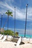 plażowi yahts Obrazy Royalty Free