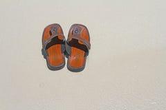 plażowy but Zdjęcie Stock