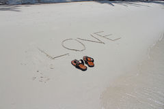 plażowy but Obraz Stock