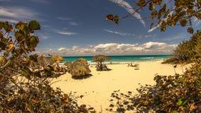 Plażowy Ancon w Trinidad, Kuba Zdjęcia Royalty Free