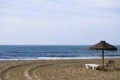 plażowy Atlantic ocean Zdjęcie Stock