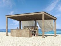 Plażowy bar Zdjęcia Royalty Free