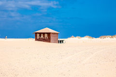 Plażowy bar Obrazy Royalty Free