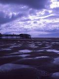 plażowy Blackpool Obraz Royalty Free