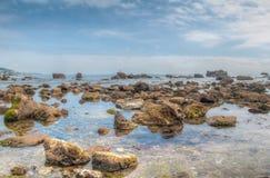 Plażowy brzeg Zdjęcie Royalty Free