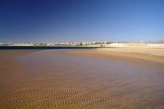 plażowy brzegowy czerwony morze zdjęcia stock