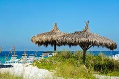 Plażowy Cabana Obrazy Stock