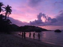 Plażowy Cabo San Juan zdjęcia royalty free