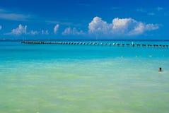 plażowy Cancun Zdjęcie Royalty Free