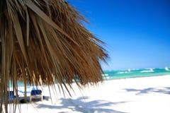 plażowy Caribbean piaska biel Obraz Royalty Free