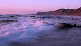 plażowy castelejo robi praia sagres Fotografia Royalty Free