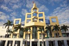 plażowy centrum covention Miami Zdjęcia Stock