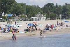 plażowy Cobourg Ontario Obraz Royalty Free