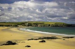 plażowy Cornwall England Europe Zdjęcia Stock