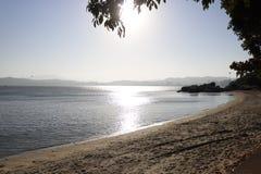 Plażowy czas w Florianopolis zdjęcie stock