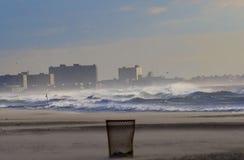 plażowy daleko rockaway zdjęcia stock