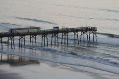 Plażowy Daytona Molo Fotografia Stock