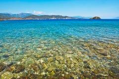 plażowy denny tropikalny Zdjęcia Royalty Free