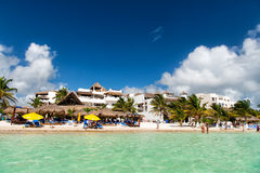 plażowy denny tropikalny Zdjęcie Stock