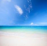 plażowy denny tropikalny Obrazy Royalty Free