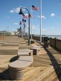 plażowy deskowy mirtowy spacer Obraz Stock
