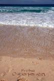 plażowy diun sceny morze Obraz Stock