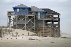 plażowy dom Obrazy Royalty Free