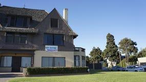 Plażowy dom dla czynszu Obraz Royalty Free