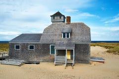 Plażowy dom przy Cape Cod Zdjęcia Royalty Free