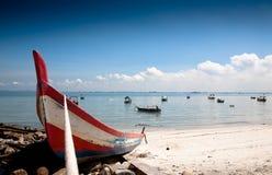 plażowy fisher Zdjęcia Stock