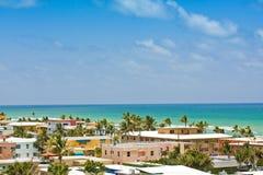 plażowy Florida Hollywood Fotografia Royalty Free