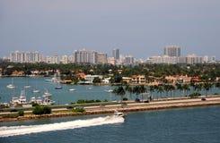 plażowy Florida Miami Zdjęcia Royalty Free