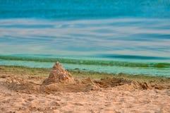 plażowy footpath mola morze Obrazy Royalty Free