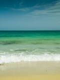 plażowy footpath mola morze Obraz Royalty Free