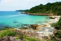 plażowy footpath mola morze Zdjęcia Royalty Free