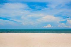 plażowy footpath mola morze Fotografia Royalty Free