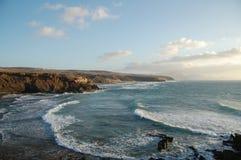 plażowy Fuerteventura Fotografia Stock