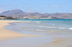 plażowy Fuerteventura Zdjęcia Stock