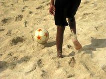 plażowy futbol Fotografia Stock