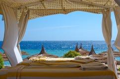 ZDROJU teren na plaży Obraz Royalty Free